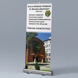 Roll-up Koch Róbert Kórház Edelény