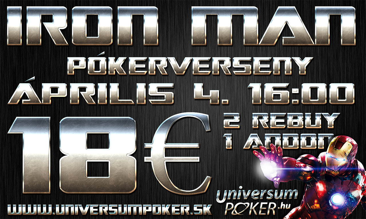 iron man poker cerseny nagy